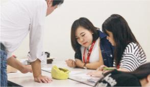 一人ひとりのレベルに合わせた英語授業でレベルアップ!